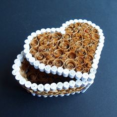 Make a Beautiful Quilled Heart Box   Guidecentral
