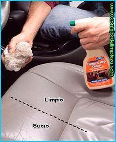 Limpieza del interior de su carro.