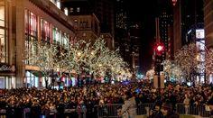"Michigan Avenue Lights Festival ""The Crowd"""