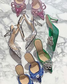 """THREADS on Instagram: """"We're well on our way to having a shoe collection like Carrie Bradshaw and TBH we're totally okay with that. 👠🥰 . They're all ready to ship…"""""""