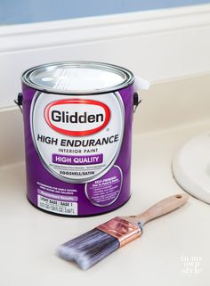 $20 a gallon budget-friendly paint that goes on smooth and dries to a lustrous finish - from Walmart