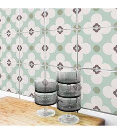 Stickers pour Carrelage de Cuisine ou Salle de bain Allegra