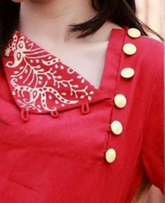50+Trendy Neck Designs to Try with Plain Kurtis • Keep Me Stylish