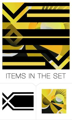 """""""Geometric Template"""" by purplerose27 ❤ liked on Polyvore featuring art"""