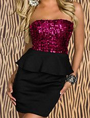 Cheap Red Sequin Top Peplum Dress online - All Products,Fashion Dresses,Peplum dresses Stylish Dresses, Sexy Dresses, Fashion Dresses, Peplum Dresses, Mini Dresses, Short Dresses, Bodycon Dress, Sexy Outfits, Pretty Outfits