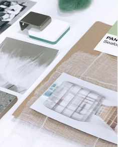 Transparency can be achieved by tracing paper or translucent fabrics. Continue reading... #moodboard #moodboardacademy