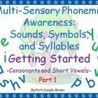 Multi-Sensory Phonemic Awareness - Getting Started