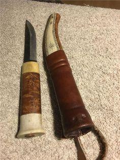 Brukskniv, jaktkniv, handgjord kniv på Tradera.com - Knivar från