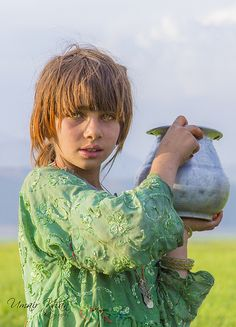 The Sherperd's Daughter (Afghan Persian, Afghanistan, Persia) -Umair Khan (Photographer)