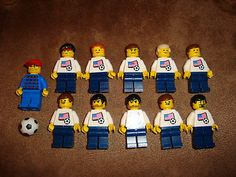 Lego Soccer Team USA - Figurines