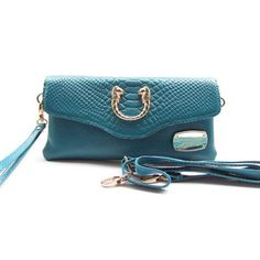 Michael Kors Outlet Snake-Embossed Small Blue Crossbody Bags| Michael Kors Outlet Online
