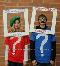 When it comes to Halloween, you could either do a solo costume, a group costume, or a couple's costume. Share the frightful night with your significant other with these cute couple's costumes for Halloween. Best Couples Costumes, Unique Halloween Costumes, Last Minute Halloween Costumes, Creative Costumes, Halloween Couples, Family Costumes, Halloween Clothes, Halloween Costumes With Mustaches, Halloween Outfits