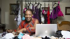 Precious L. Williams, lingerie creator for plus-sized women and winner of 2013 Black Enterprise Elevator Pitch contest, shares entrepreneurial tips #LimelightApproved #TheConfidence