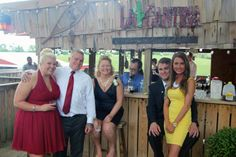Wedding guests at the Love Shack at Moonlight Fields