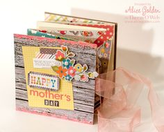 Beautiful and creative Mothers Day Album by Alice Golden from Thermo Web!! http://thermoweb.com/blog/
