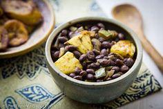 Caribbean Pineapple Black Beans