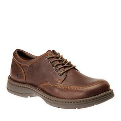 """Born """"Sierra II"""" Lace-Up Shoes in Mahogany."""