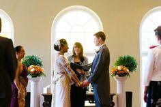 Braxted Park wedding ceremony in Essex