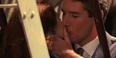 """KISSING COUPLE~""""Pretty Woman"""" ... Julia & Richard"""