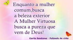 FALANDO DE VIDA!!: Enganosa é a graça e vã a formosura!!!!