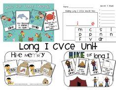 Extra Special Teaching: Long I CVCe Unit
