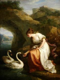 """Angelica Kauffman (1740–1807), """"Immortality: A Nymph Presiding in the Temple of Immortality"""""""
