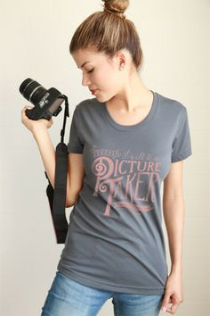 Forever I will be a picture taker, even on weekends! perfect gift for a photographer