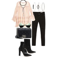 A fashion look from January 2017 featuring Calypso St. Barth tunics, Zara jeans and Gianvito Rossi ankle booties. Browse and shop related looks.