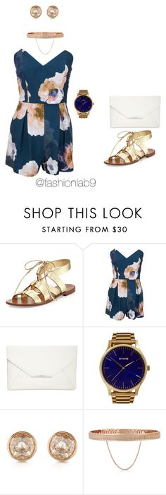 """Summer 16"" by alana-andrea-bacchus on Polyvore featuring Kate Spade, Keepsake the Label, Style & Co., MVMT, Michael Kors and Eddie Borgo"