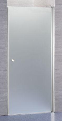 Lusso duschdörr rak med frostat glas | Alterna badrum