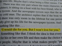 This is the generation that ruined the world (what is this from?,perks of being a wallflower,the fountainhead)
