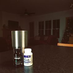 A few of my favorite things: my cup, my black granite counters, and sweet dreams with ProBio5 and MegaX. #bestsleepever #plexus #bestcupever #ozarktrails #dreamhome #fourgables