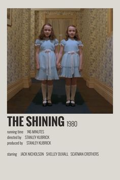 Iconic Movie Posters, Minimal Movie Posters, Minimal Poster, Iconic Movies, Film Polaroid, Polaroids, Affiche The Shining, The Shining Poster, Vintage Movies