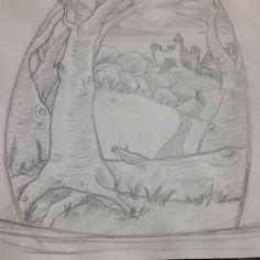 Started and finished by itself ... in the fantasy world  . . #worldofartists #drawing #arts_help #artshelp #proartists #sketch #art #illustration #talentedpeopleinc #fantasy #dailysketch #unfinishedart #artwork #sketchbook #sketching #arts_gallery #طراحی #تصویرسازی #طراح #تخیلی #هنرمند #ایرانی by _lonebird_arts_