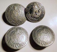 "Buttons Salzburg Archbishop St George St Rupert Dragon Slaying Europe. $28.00, via Etsy.  set of 3.  1"""