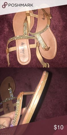 Daytrip sandals, size 7.5 Daytrip sandals, size 7.5, good used condition, small scratches on right sandal, pic included. Daytrip Shoes