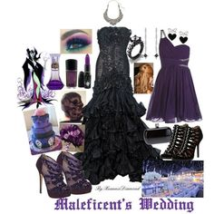 maleficent prom | Maleficent's Wedding, created by xuanniediamond on Polyvore