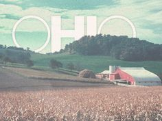 OHIO - Lots and lots of farmland. Sometimes it gets old, sometimes it's so beautiful.