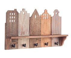 "Wieszak ścienny ""Copenhagen II"", 13 x 60 x 35 cm Easy Woodworking Projects, Diy Pallet Projects, Fine Woodworking, Wood Crafts, Diy And Crafts, Types Of Wood, Wood Design, Bird Houses, Diy Workshop"