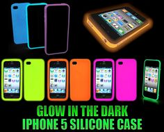 NEW iPhone 5 Glow In The Dark Silicone Case @Erin Steed