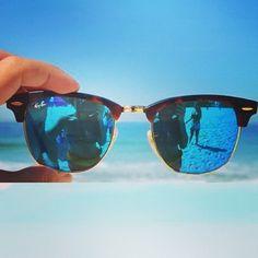 Ray Ban Clubmaster - Specialist Ray-Ban zonnebrillen en zonnebrillen op sterkte! Specialist alle soorten Progressieve en multifocale brillenglazen. Meer info op http://www.optiekvanderlinden.be/multifocale_brilleglazen.html raybans sunglasses!