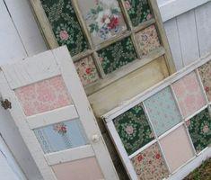 Doors & Windows with Vintage Wallpaper