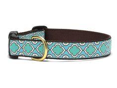 Blue Moroccan Nylon Collar