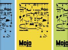based on The Incredible Machine and Rube Goldberg machines.  ||| Nine - Graphic Design |||