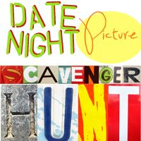 Date Night Picture Scavenger Hunt Contest! Win a $50 gift card!