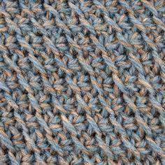 My Tunisian Crochet: Tunisian Diagonal Stitch