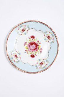 Pip Studio Rose Plate.  £8.  Love.