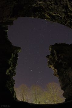 Credit: P-M Hedén/TWAN Skywatcher Per-Magnus Heden wondered if the Vikings gazed at the same starry sky, which includes the constellation Orion at bottom, when he took this photo in Feb. 2011.