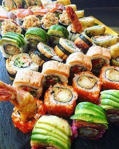 Bu Gunun Sushileri...   #vsco #vscocam #vscorussia #vscoturkey #sushi #cheflife #dinner #food #instafood #instagood #instagram #asianfood #kitchen #japanesefood #amazing #truecooks #bestoftheday #baku #azerbaijan #aztagram #foodphotography #foodie #foodlover #eeeeeats #dinnertime