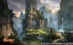 LegendofCondorHeroes [] by Yi Ming Xuan (Ming Fan) [] Full size here: http://s14.sinaimg.cn/orignal/54df2f7fgfbc228b8422d&690